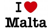 'I love malta' Pack - 1 mug + 1 Tshirt